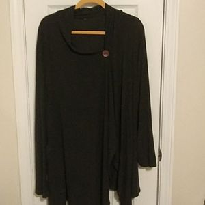 Over size, long cardigan
